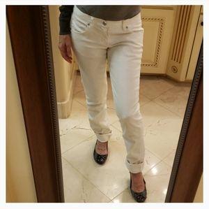 Paper Denim & Cloth white peg jean, Sz 26.